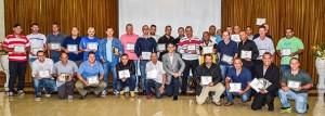 Ganhadores dos prêmios de Motorista do Ano, Destaque Ética Profissional e Motorista Socialmente Responsável