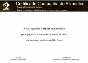 Certificado ADM